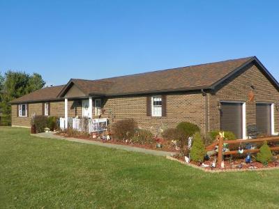 Brookville Single Family Home For Sale: 12083 Sr 1