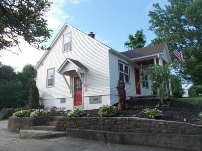Lawrenceburg, Aurora, Bright, Brookville, West Harrison, Milan, Moores Hill, Sunman, Dillsboro Single Family Home For Sale: 10734 Hueseman Rd