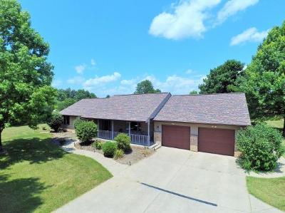 Brookville Single Family Home For Sale: 11017 Keeler Rd