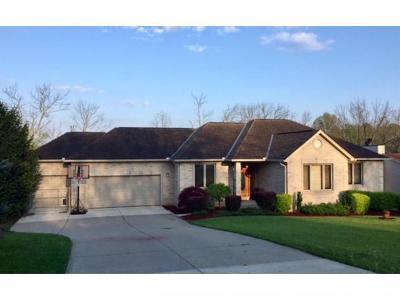 Lawrenceburg Single Family Home For Sale: 19893 Overlook Cir