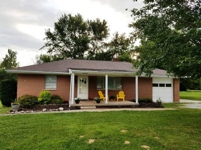 Brookville Single Family Home For Sale: 14179 Sr 1