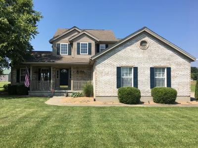 Lawrenceburg, Aurora, Bright, Brookville, West Harrison, Milan, Moores Hill, Sunman, Dillsboro Single Family Home For Sale