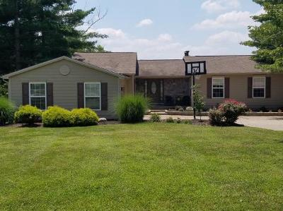 Lawrenceburg, Aurora, Bright, Brookville, West Harrison, Milan, Moores Hill, Sunman, Dillsboro Single Family Home For Sale: 1433 Golfview Ct