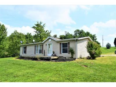 Brookville Single Family Home For Sale: 5213 Hill Rd