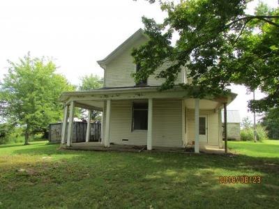 Rising Sun Single Family Home For Sale: 4572 Cass Union Rd