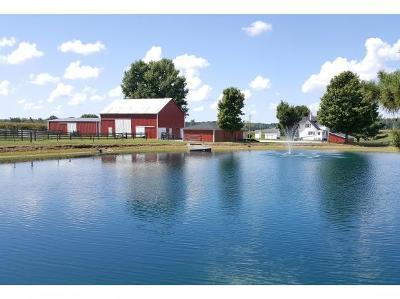 Dearborn County Farm & Ranch For Sale: 28832 Blue Creek Rd