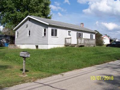 Aurora IN Single Family Home For Sale: $24,900