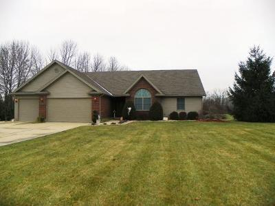 Brookville Single Family Home For Sale: 11161 Brookhaven Rd