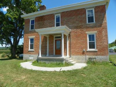 Brookville Single Family Home For Sale: 14049 Levee Rd