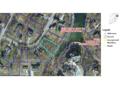 Lawrenceburg Residential Lots & Land For Sale: Cedar Cliff Drive