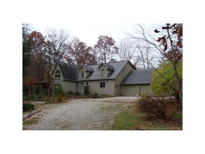Scott County Single Family Home For Sale: 5809 W Oak Hill Road