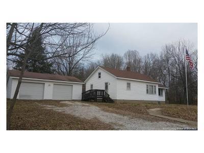 Scott County Single Family Home For Sale: 937 E Booe Road