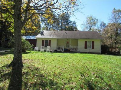 Washington County Single Family Home For Sale: 1866 S Side W Morgan