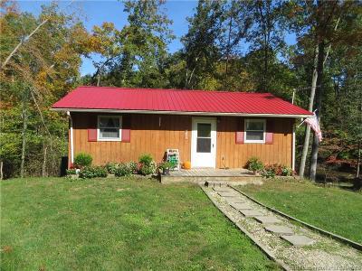 Scott County Single Family Home For Sale: 3459 E Calder Lane