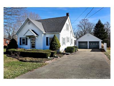 Floyd County Single Family Home For Sale: 5200 Edwardsville-Galena Road