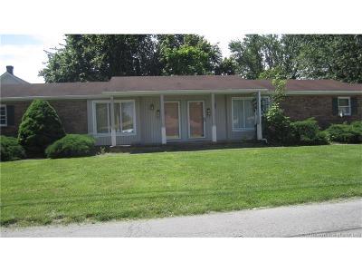 Scott County Single Family Home For Sale: 3 & 5 W Owen Street