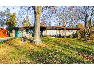 Floyd County Single Family Home For Sale: 2412 Stover Drive