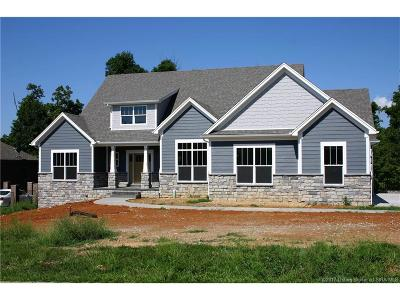 Floyd County Single Family Home For Sale: 3023 Lot 17 Reflection Way