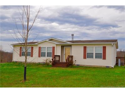 Orange County Single Family Home For Sale: 6522 S County Road 490 W