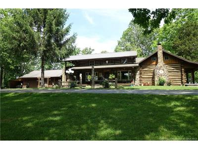 Jackson County Single Family Home For Sale: 1032 S County Road 740 W