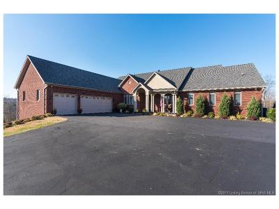 Harrison County Single Family Home For Sale: 778 Ball Diamond Hill NE