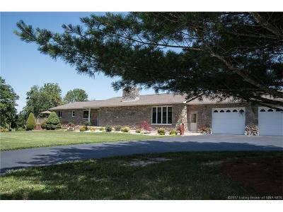 Scott County Single Family Home For Sale: 3672 W Little York Road