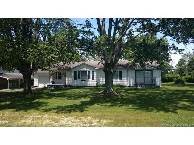 Scott County Single Family Home For Sale: 642 Cedar Street