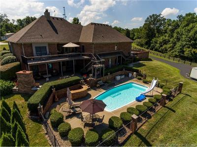 Floyd County Single Family Home For Sale: 7098 Corydon Ridge Road