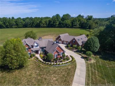 Harrison County Single Family Home For Sale: 2586 Corydon Ridge Road
