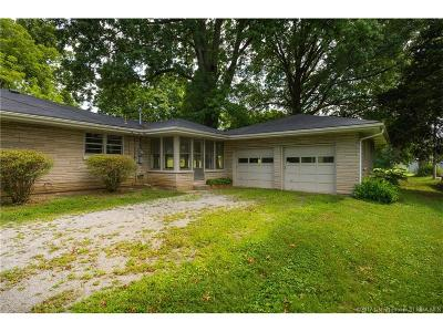 Floyd County Single Family Home For Sale: 2406-2412 Green Valley Road