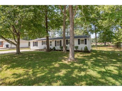 Floyd County Single Family Home For Sale: 2017 Mary Lee Drive