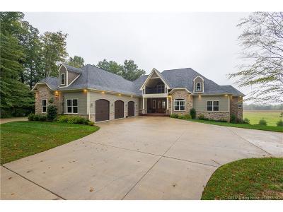 Harrison County Single Family Home For Sale: 6101 Old Lanesville Road NE