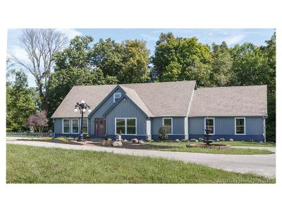 Floyd County Single Family Home For Sale: 3011 Spickert Knob Road