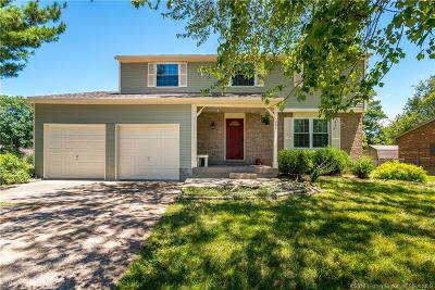 New Albany Single Family Home For Sale: 1001 Meadowview Drive