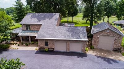 Jeffersonville Single Family Home For Sale: Island View Drive