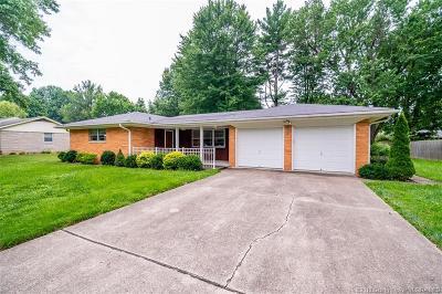 Jeffersonville Single Family Home For Sale: 506 Lancassange Drive