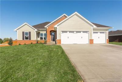 Jeffersonville Single Family Home For Sale: 3012 Crystal Lake Drive