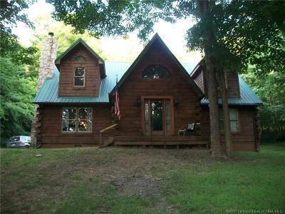 Orange County Single Family Home For Sale: 10932 S County Road 750 E