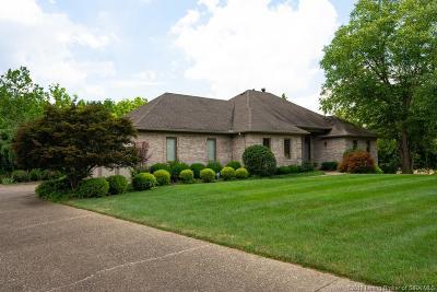 Jeffersonville Single Family Home For Sale: 1604 Fox Run Trail