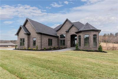 Floyd County Single Family Home For Sale: 5041 Cooks Creek Lane