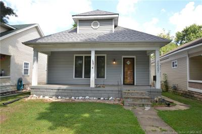 New Albany Single Family Home For Sale: 2207 Reno Avenue