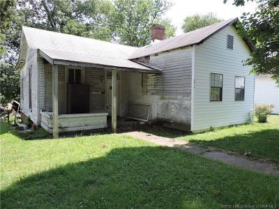 Jeffersonville Single Family Home For Sale: 1026 Thomas V Bryant Drive