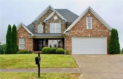 Sellersburg Single Family Home For Sale: 11525 Yorktown Boulevard