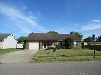 Jeffersonville Single Family Home For Sale: 3605 N Seilo Ridge