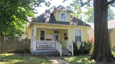 New Albany IN Single Family Home For Sale: $94,900