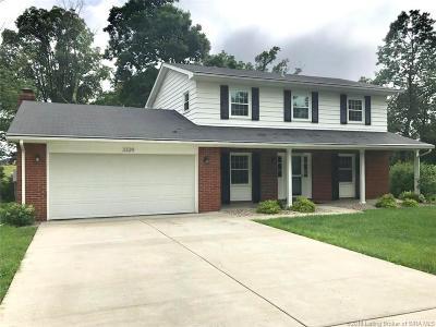 Floyds Knobs Single Family Home For Sale: 3329 Buffalo Trail
