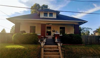 New Albany IN Single Family Home For Sale: $112,000