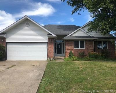 Jeffersonville Single Family Home For Sale: 3111 Gardner Boulevard