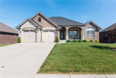 Jeffersonville Single Family Home For Sale: 3110 Timberlake Court