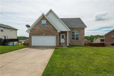 Jeffersonville Single Family Home For Sale: 2803 Boulder Ridge Drive